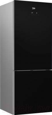 Холодильник с морозильником Beko RCNE520E20ZGB