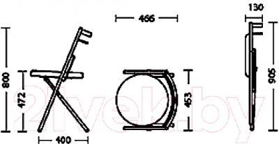 Стул Nowy Styl Piccolo Chrome (V-4)