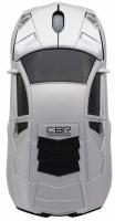 Мышь CBR MF-500 Bizzare (серебристый) -