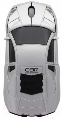 Мышь CBR MF-500 Bizzare (серебристый)