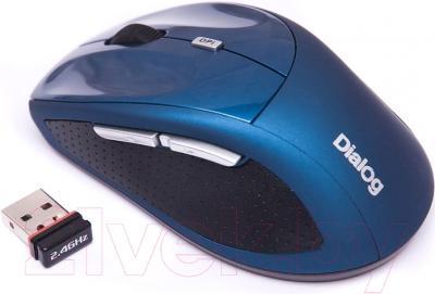 Мышь Dialog Katana MROK-18U (синий)