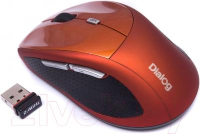 Мышь Dialog Katana MROK-18U (оранжевый)