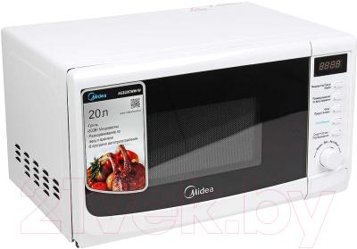 Микроволновая печь Midea AG820CWW-W - вид спереди