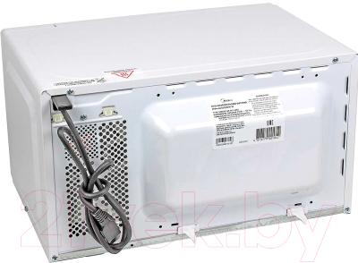 Микроволновая печь Midea AG820CWW-W - вид сзади