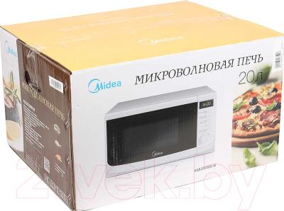 Микроволновая печь Midea AG820CWW-W - коробка