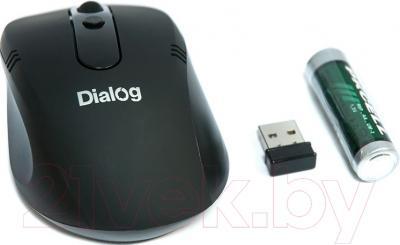 Мышь Dialog MROP-03UB (черный)