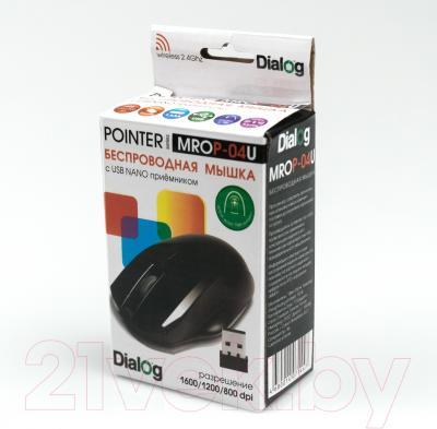 Мышь Dialog Pointer MROP-04U (черный)