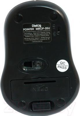 Мышь Dialog MROP-05UB (черный)