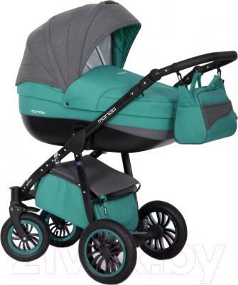 Детская универсальная коляска Expander Mondo Black Line 3 в 1 (14)
