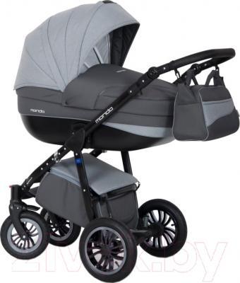 Детская универсальная коляска Expander Mondo Black Line 3 в 1 (15)