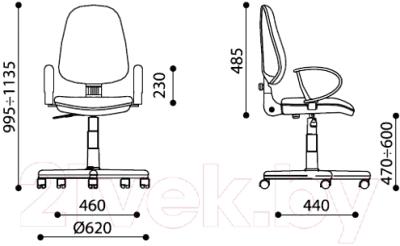 Кресло офисное Новый Стиль Comfort GTP Q (C-16)