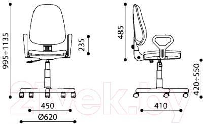 Кресло офисное Новый Стиль Prestige GTP New Q (C-7)