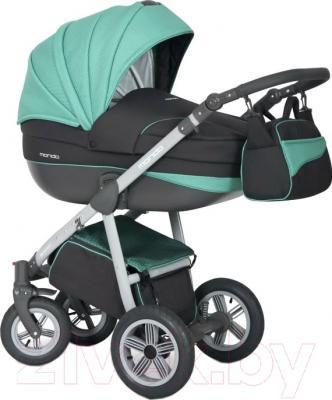 Детская универсальная коляска Expander Mondo Grey Line 3 в 1 (04)