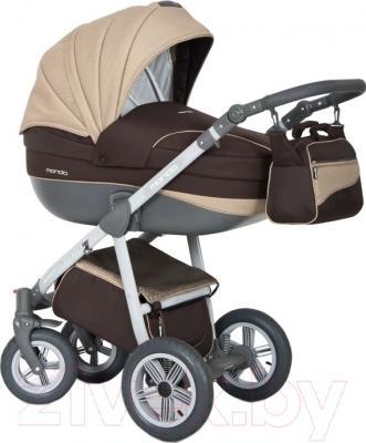 Детская универсальная коляска Expander Mondo Grey Line 3 в 1 (08)