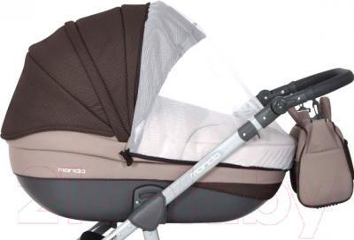 Детская универсальная коляска Expander Mondo Grey Line 3 в 1 (08) - внешний вид на примере модели другого цвета