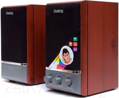Мультимедиа акустика Dialog Disco AD-04 (вишня)