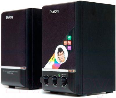 Мультимедиа акустика Dialog Disco AD-04 (черный)