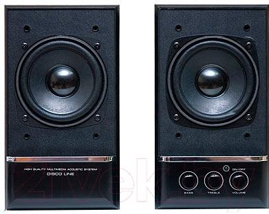 Мультимедиа акустика Dialog Disco AD-06 (черный)