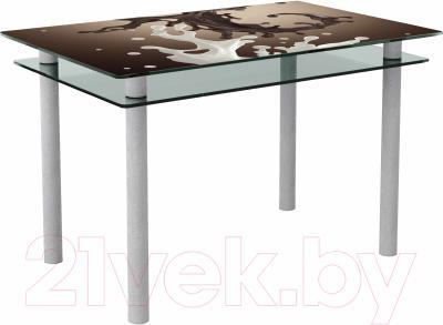 Обеденный стол Artglass Сказка Школад