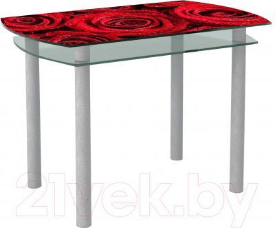 Обеденный стол Artglass Октава Розы
