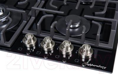 Газовая варочная панель Kuppersberg TG 699 B Silver