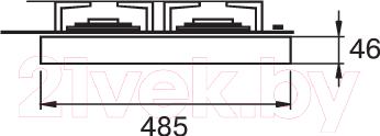 Газовая варочная панель Kuppersberg TG 699 B