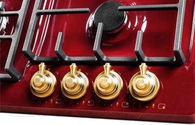 Газовая варочная панель Kuppersberg FV6TGRZ BOR Bronze