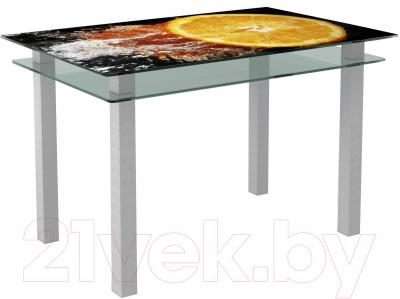 Обеденный стол Artglass Кристалл Апельсин