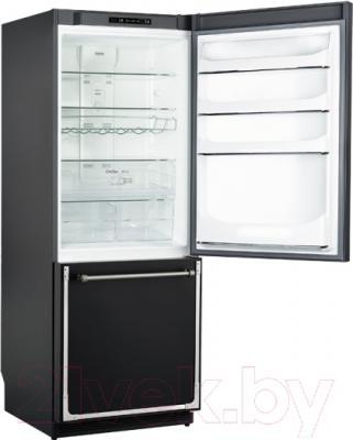Холодильник с морозильником Kuppersberg NRS 1857 ANT Silver