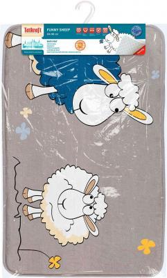 Коврик для ванной Tatkraft Funny Sheep Ultra Soft 18341