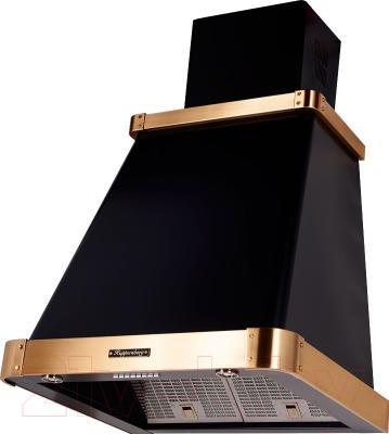 Вытяжка купольная Kuppersberg V 639 ANT Bronze