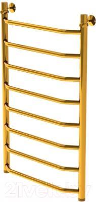 Полотенцесушитель водяной Gloss & Reiter Terra. Л. 50х80.Т8.G1 Gold