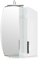 Шкаф с зеркалом для ванной Аква Родос Глория ZGLP55R -