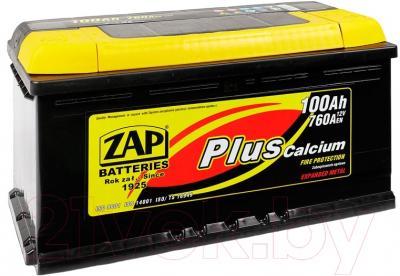 Автомобильный аккумулятор ZAP Plus 600 38 R (100 А/ч)