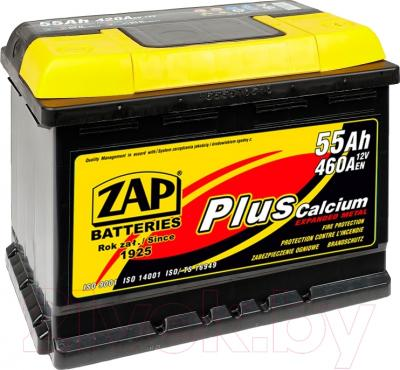 Автомобильный аккумулятор ZAP Standart 555 59 L (55 А/ч)