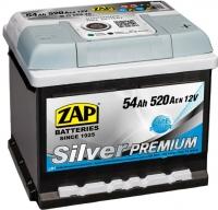 Автомобильный аккумулятор ZAP Silver Premium 554 45 (54 А/ч) -