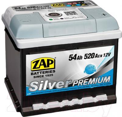 Автомобильный аккумулятор ZAP Silver Premium 554 45 (54 А/ч)