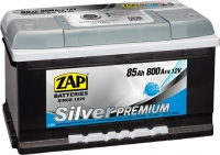 Автомобильный аккумулятор ZAP Silver Premium 585 45 (85 А/ч) -