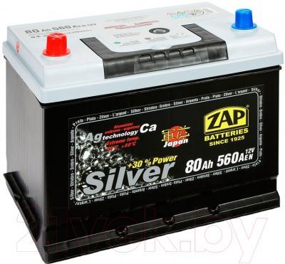 Автомобильный аккумулятор ZAP Silver Japan 580 72 L (80 А/ч)