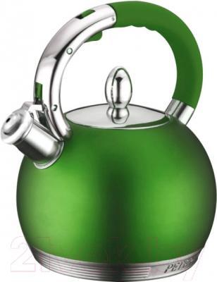 Чайник со свистком Peterhof PH-15615 (зеленый)