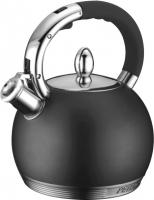 Чайник со свистком Peterhof PH-15615 (черный) -