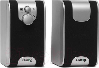 Мультимедиа акустика Dialog W-200 (черный)