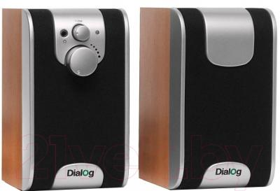 Мультимедиа акустика Dialog W-200 (вишня)
