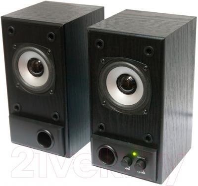 Мультимедиа акустика Dialog W-202 (черный)