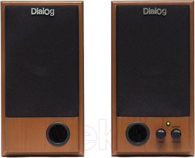 Мультимедиа акустика Dialog W-202 (вишня)