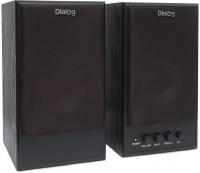 Мультимедиа акустика Dialog W-203 (черный) -