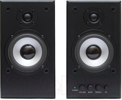 Мультимедиа акустика Dialog W-203 (черный)