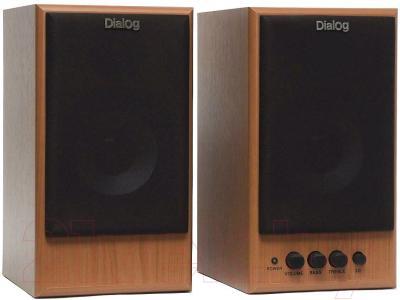 Мультимедиа акустика Dialog W-203 (вишня)