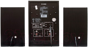 Мультимедиа акустика Dialog W-3000 (черный)