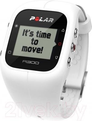 Фитнес-трекер Polar A300 HR (белый)